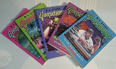 Goose Bumps Book Lot of 5