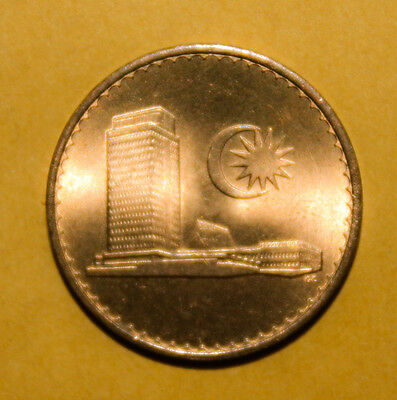 Malaysia 1 Sen 1968 Brilliant Uncirculated Coin - Parliament House **** Key Date