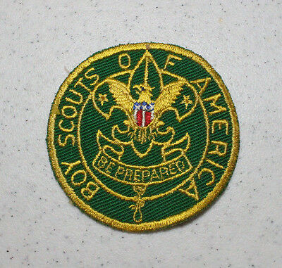 Vintage Boy Scouts of America Asst. Scoutmaster Green Patch