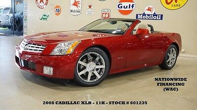 2008 Cadillac XLR 08 XLR CONV,HUD,NAV,HTD/COOL LTH,6 DISK CD,18IN CH 08 XLR CONV,HUD,NAV,HTD/COOL LTH,6 DISK CD,18IN CHROME WHLS,11K,WE FINANCE!!