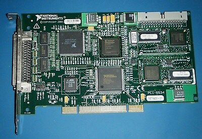 NI PCI-6534 32-Bit Digital/Pattern IO, Deep Memory, National Instruments *Tested