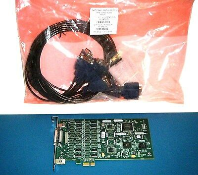 NI PCIe-8430/8 Kit RS232, with 8 Port Cable, National Instruments *Tested*
