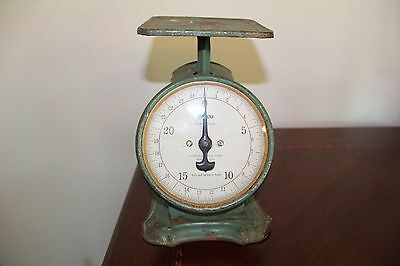 Vintage 25lb climax family scale WORKS GREAT!