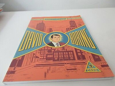 paperback graphic novel daniel clowes david boring