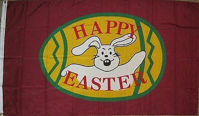 New 3' by 5' Easter Flag/Banner. Free Ship in Canada!