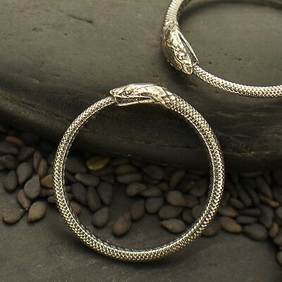 Ouroboros Ring Sterling Silver Snake Gothic Eating Tail UK L N P USA 6 7 8 - 704