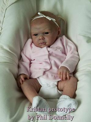 Reborn Doll Kit Kristan by Phil Donnelly