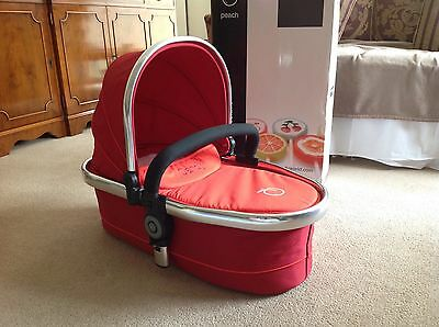 iCandy Peach Blossom Upper Carrycot in Tomato Red