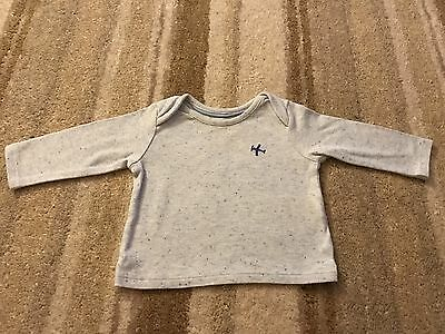 Marks & Spencer Baby Long Sleeve T-shirt, Top,Blue,3-6months M&S, Excellent Cond