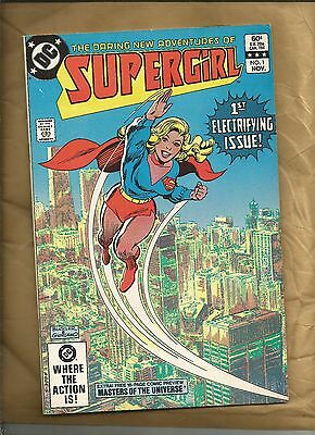 Supergirl 1 Daring adventures of fn+ Masters of the Universe 1982   DC Comics