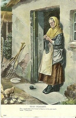 Irish Peasant Oh A Good Wife Is The Blessing Of Heaven In The Poor Man's House