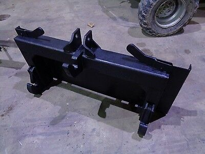 3-Point Tractor Skid Steer Plate Loader Quick Attach Attachment