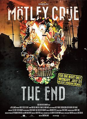 MOTLEY CRUE POSTER e - VARIOUS SIZES - WATERPROOF LAMINATED OPTION