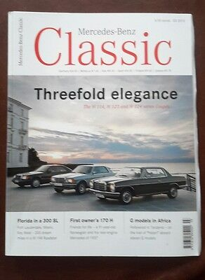 Mercedes benz classic magazine issue 3 2010 good for Mercedes benz classic magazine