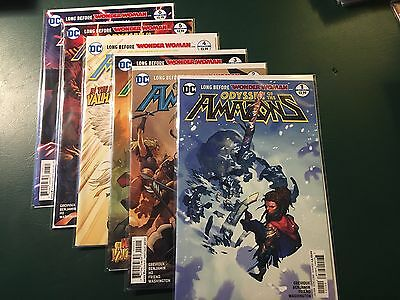 DC Odyssey of the Amazons Issues 1-6 (Excellent condition)