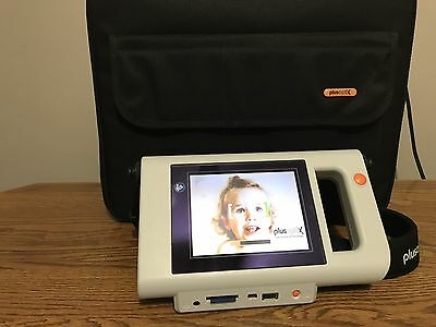PlusoptiX S12C Touch Screen Mobile Vision Screener device with Case & Charger