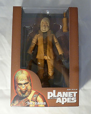 "NECA 7"" Action Figure Planet of the Apes DR. ZAIUS (30071), 2014 - BOXED NEW"