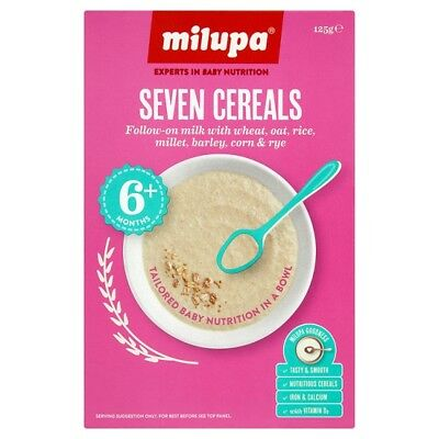 Milupa Breakfast Seven Cereals 6 Plus Months 125 Grams