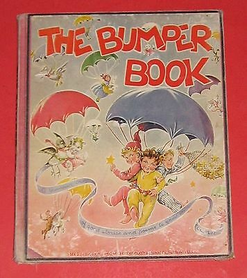 The Bumper Book Editied Watty Piper  Eulalie 1946 Edition Antique Childrens Book