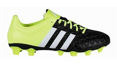 Adidas Men's Ace 15.4 Firm Ground Football Boots with Textured Toe Front