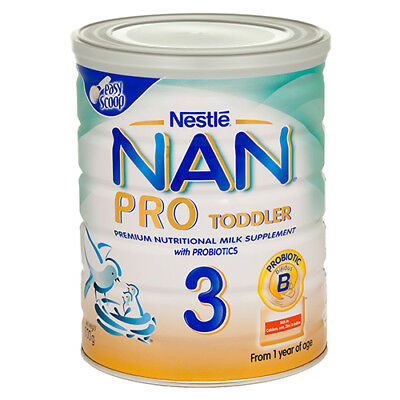 NEW Nestle Nan Pro 3 Gold From 1 Year - 800g
