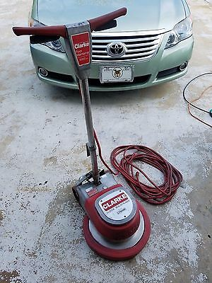 "Clarke FM-1700 17 Floor Polisher Sander Buffer Burnisher 17"" Maintainer-TESTED"