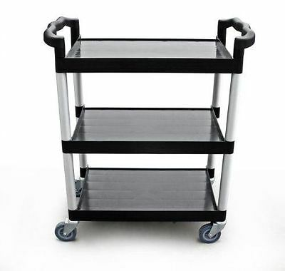 New Star 1 pc Heavy Duty Utility Cart Bus Cart 350 lbs Load 3 Tier Cart 42-1/2x1