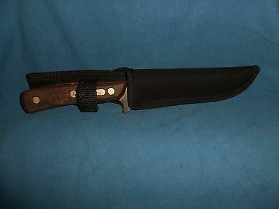 Vintage Schrade Large Old Timer Usa Fixed Blade Hunting Knife