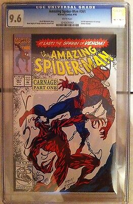 Amazing Spider-Man #361 - 1st full appearance of Carnage