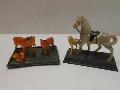 Vintage Mini Horse Plastic Made in Hong Kong