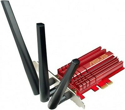 Asus PCE-AC68 AC1900 DB wireless PCIe Network Card