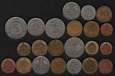 OPC 1950-1992 Germany FDR Coin Collection of 22