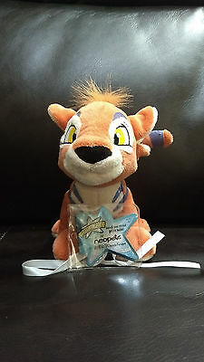Neopets Orange Kougra Series 2 Keyquest Plush