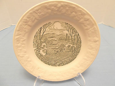 """Taylor Smith & Taylor Vintage """"Pastoral"""" Plate #11-55-4 - Made in the USA"""