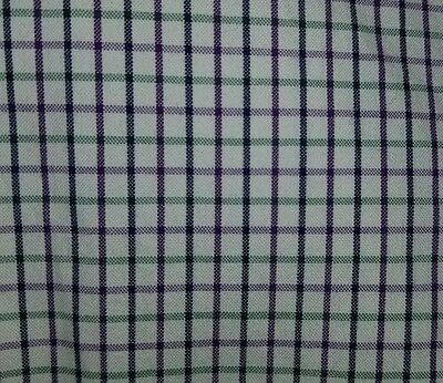 Men's XL Polo Ralph Lauren Green Blue Purple Beige REGENT Classic Plaid Shirt