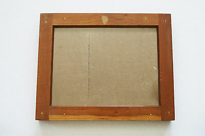 Vintage E. & H.t. Anthony & Co. Wooden Contact Printing Frame