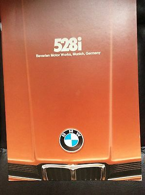 1978 BMW 528i Sales Brochure