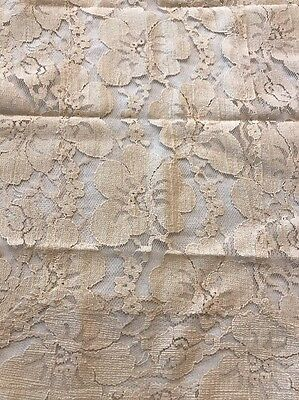 Antique VICTORIAN LACE DOILY Floral Design Table Runner Lot Of 6