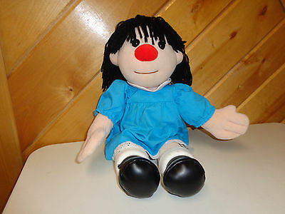 The Big Comfy Couch  18 Inch Molly Clown Plush Dolly  Doll   Euc  Very Clean!!