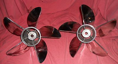 Hydromotive 15 1/2 x 29 P5 5 Blade Stainless Steel Propeller Set Mercury Racing