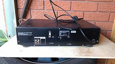 Sony TC-WE435 Stereo Dual/Double Cassette Deck Tape Player