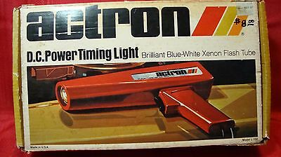 Actron DC Power Timing Light Model L-100 USA