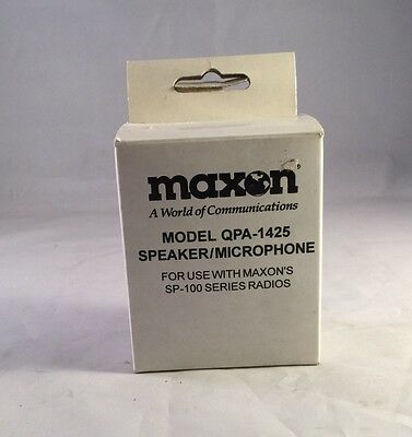 Maxon Model QPA-1425 Speaker/Microphone