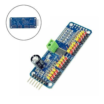 PCA9685 16 Channel 12 bit PWM Servo Driver I2C Interface Arduino Raspberry Pi