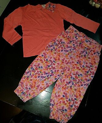 girls ted baker designer 18-24 months top & trousers joggers bundle summer next