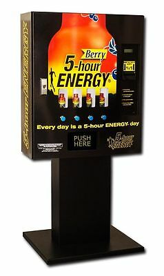 5 hour energy vending machine drink machine energy shot vending TOTAL OF 3!!!