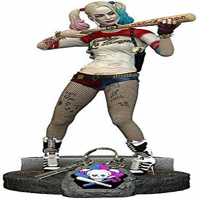 "Suicide Squad Harley Quinn 10"" Premium Statue Figure Margot Robbie Collectible"