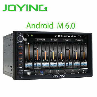 """HD 7"""" Android6 2din 4Core CarRadio stereo GPS Navi DAB BT With Digital Amplifier"""