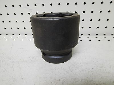 """Used, Wright #  88-55  Metric Impact Socket, 55Mm  1"""" Drive  6-Point"""