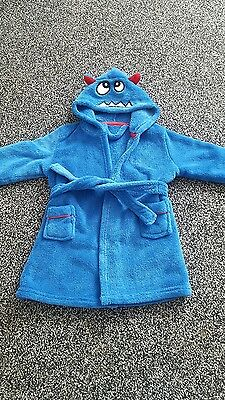 boys dressing gown 12-18 months